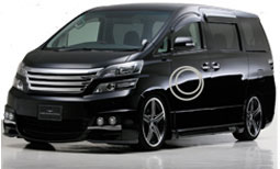 Toyota Vellfire luxury car rentals